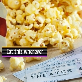 Eat your popcorn anywhere.