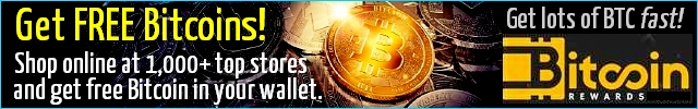 Get big cash back in Bitcoins for shopping online