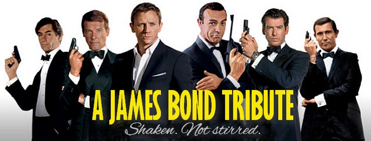 A James Bond movie tribute... shaken, not stirred.
